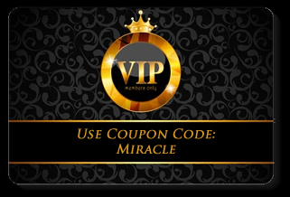 Miracles mastermind dr joe vitale mr fire coupon codes only available to miracles mastermind vip club members on my products fandeluxe Choice Image